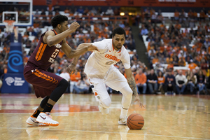Michael Gbinije leads Syracuse into the 2015-16 season as the starting point guard.
