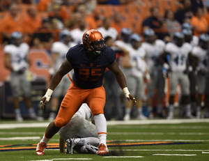 Chris Slayton and the Syracuse defensive line is motivated by its critics and has plenty to prove in 2016.