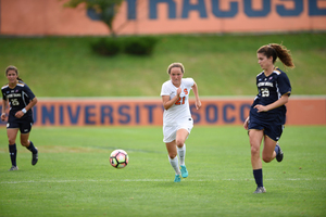 Syracuse's Carolin Bader transformed from a standout German club player into a contributor for the Orange.