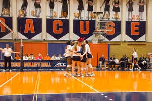 Syracuse grabbed just its fourth victory this season in its five-set win over Louisville. The Orange was able to limit its errors on Sunday even as the Cardinals weren't able to.