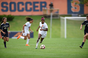 Sheridan Street was moved from forward to center attacking midfielder this season. While she struggled at first, Street has picked up her play as the season has progressed.