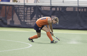 Lies Lagerweij led Syracuse with 13 goals and helped the Orange allow just 1.31 goals per game this season.