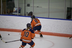 Stephanie Grossi's late penalty led to a power play for Mercyhurst, which in turn led to the game winning goal.