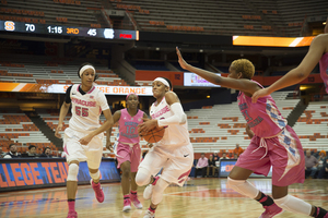 Brittney Sykes and the Orange beat North Carolina for the second time this season.
