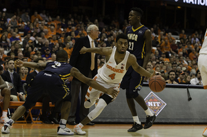John Gillon and the Orange will look to advance to the NIT's Elite Eight with a win on Saturday against Ole Miss.