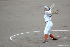 Sydney O'Hara picked up her NCAA leading seventh save in the game.
